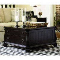 Lexington Long Cove Greenport Storage Cocktail Table in Midnight - 01-0801-953 - Accent Tables - Decor