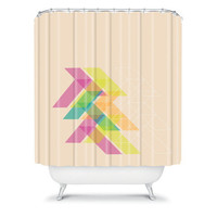 DENY Designs Home Accessories | Gabi Geo Shower Curtain