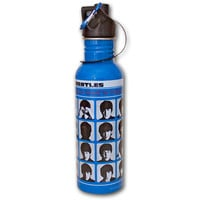 Beatles A Hard Day&#x27;s Night Stainless Steel Water Bottle  NEW