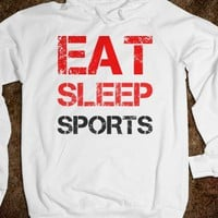 eat sleep sportss - SPORTSSTORE - Skreened T-shirts, Organic Shirts, Hoodies, Kids Tees, Baby One-Pieces and Tote Bags