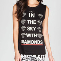 LORDS OF LIVERPOOL Lucy Diamonds Womens Muscle Tee 217520100 | Tops | Tillys.com