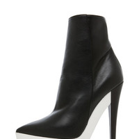 Stella McCartney | Scott Bootie in Black www.FORWARDbyelysewalker.com