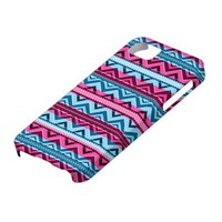 Mix #311 - Pink And Blue Aztec - iPhone 5 Case at Zazzle.ca