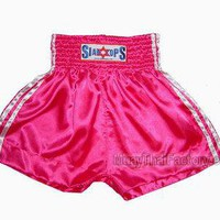 Siamtops Muay Thai Shorts - 3 stripes [ST-S-006-D] - Low prices on thai boxing Shorts