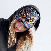 Free People Embellished Baseball Hat