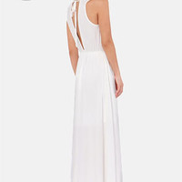 LULUS Exclusive The Great Maxi Ivory Maxi Dress