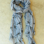 Galloping Giraffe Scarf in Gray [3640] - $16.00 : Vintage Inspired Clothing &amp; Affordable Summer Frocks, deloom | Modern. Vintage. Crafted.