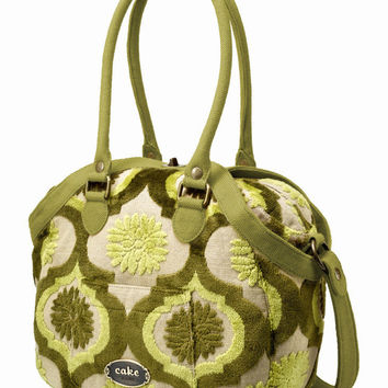 Petunia Pickle Bottom CAKE Hampton Holdall - Key Lime Cream Cake - Handbags & Purses - Personal Accessories - Category