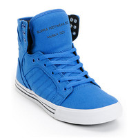 Supra Skytop Royal, Black &amp; White Canvas Skate Shoe