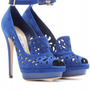 mytheresa.com -  Jimmy Choo - KALAN SUEDE PLATFORM PUMPS WITH PERFORATED DETAIL  - Luxury Fashion for Women / Designer clothing, shoes, bags