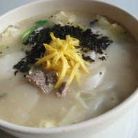 Duk Gook Recipe - Recipe for Korean Rice Cake Soup