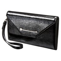 Kate Young For Target Structured Envelope Wristlet - Black