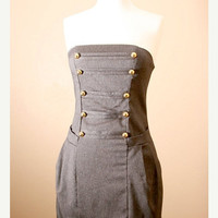 ON SALE Ends 4/16 / Low Stock Military Denim by PYTboutique