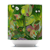Marianna Tankelevich &quot;Jungle&quot; Shower Curtain | KESS InHouse