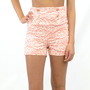 Lacey Gracey High Waist Coral Sailor Shorts