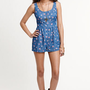 Kirra Printed Denim Romper at PacSun.com