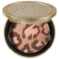 Too Faced Pink Leopard Blushing Bronzer (0.26 oz Pink Leopard