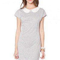 Cicely Peter Pan Collar Dress - ShopSosie.com