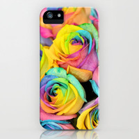 Rainbowlicious iPhone &amp; iPod Case by Lisa Argyropoulos