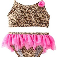 Amazon.com: Flapdoodles Girls 2-6X Lilly Leopard 2 Piece: Clothing
