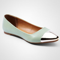 Gold Cap Mint Rocker Flats