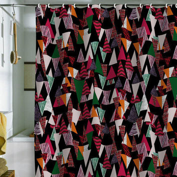 Mikaela Rydin Mixi Shower Curtain