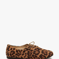 Galen 06 Leopard Fx Suede Oxford