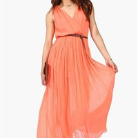Found Love Dress - Coral