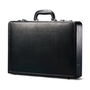 Samsonite Bonded Leather Attache (Black)