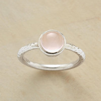 ROSE QUARTZ RING         -                  Rings         -                  Jewelry Under $100         -                  Jewelry                       | Robert Redford's Sundance Catalog