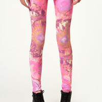 Laura Neon Tie Dye Leggings