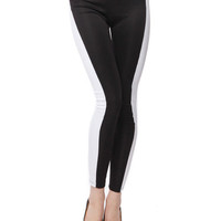 Papaya Clothing Online :: TWO-TONED LEGGINGS