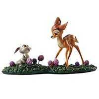 WDCC &#x27;&#x27;Just Eat the Blossoms&#x27;&#x27; Thumper and Bambi Figurine | Disney Store