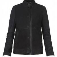 Zimmer Bomber Leather Jacket | Womens Leather Jacket | AllSaints