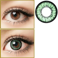 GEO Angel Green Circle Lenses Colored Contacts