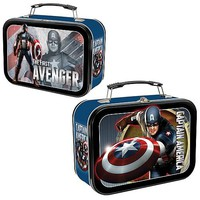 Captain America Movie Lunch Box - Vandor - Captain America - Lunch Boxes at Entertainment Earth