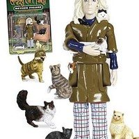 Crazy Cat Lady Action Figure - Accoutrements - Novelties - Action Figures at Entertainment Earth