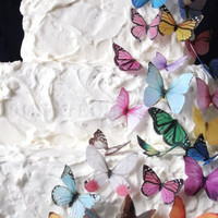30 Edible Butterflies  All Sorts  Wedding by incrEDIBLEtoppers