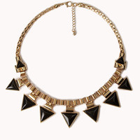 Triangle Fringe Necklace | FOREVER 21 - 1040260259