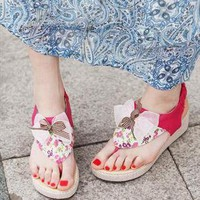 Amily Flower Sandals  from sniksa