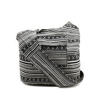Tribal Fabric Cross-Body Bag: Charlotte Russe