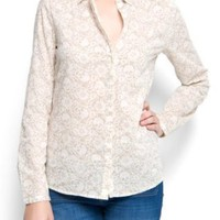 Mango Women&#x27;s Skull Shirt