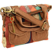 Fossil Modern Cargo Small Foldover Bright Stripe - Zappos.com Free Shipping BOTH Ways