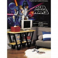 Room Mates XL Murals Star Wars Wall Decal - JL1217M - All Wall Art - Wall Art & Coverings - Decor