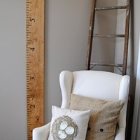 Dear Lillie â?? Oversized Ruler Growth Chart