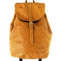 Carrot Lr-62281 Vintage Flap Backpack:Amazon:Clothing