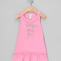 Pink Daddy's Girl Drop-Waist Dress - Infant, Toddler & Kids