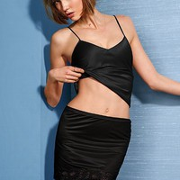 Lace-trim Half Slip