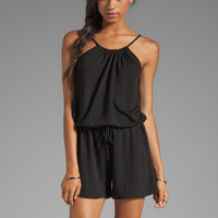 Lanston Halter Romper in Black from REVOLVEclothing.com
