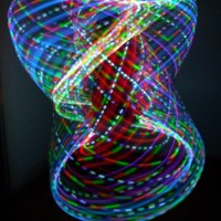 Rechargeable Chakra/Strobing LED Hula Hoop 2 by LEDCreations